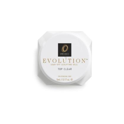 EVOLUTION Soak-Off Sculpting Gels: Top Clear, 5ml
